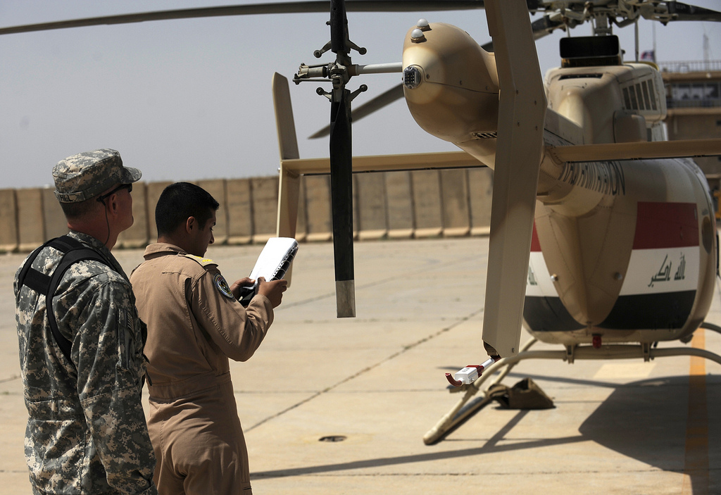 العراق يستلم مروحيات Bell 407 الامريكية  File